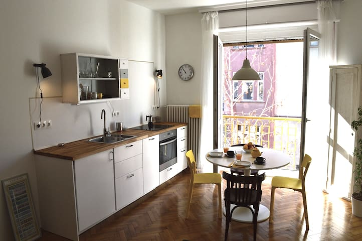 Jazmin's cute and stylish apartment - Budapest