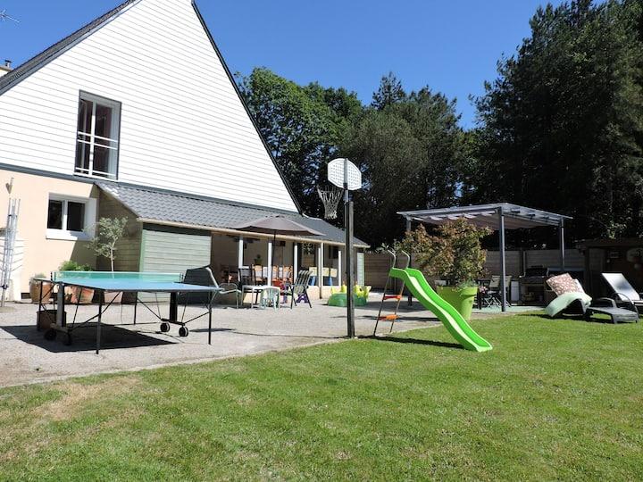 Location vacances Bretagne Guerlédan