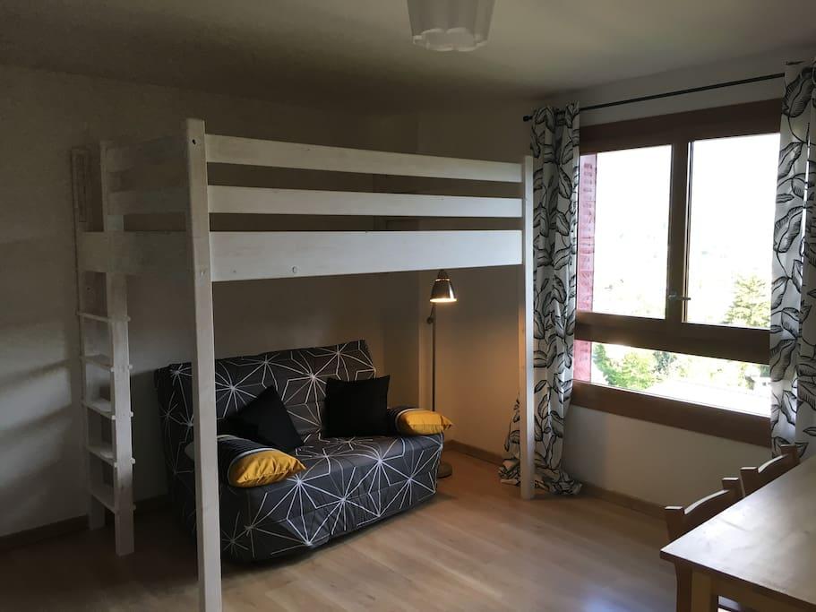 Mezzanine + canapé BZ