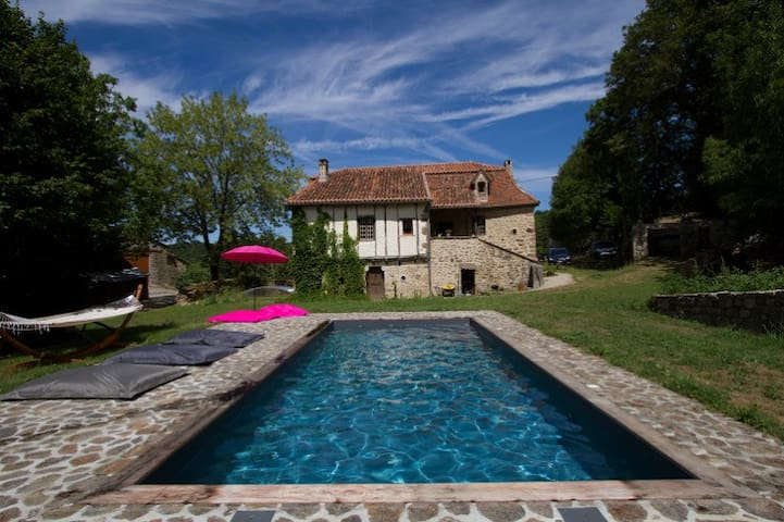 Rougié Haut - Great vacation house - Frayssinhes - Huis