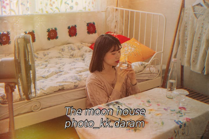 The Moon house.