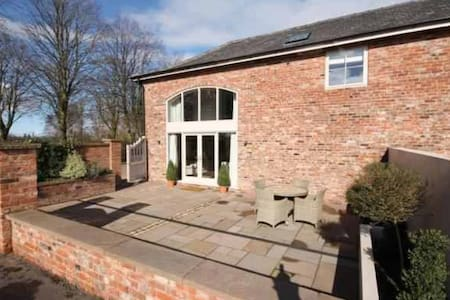 Luxury country coach house - Over Peover - Casa