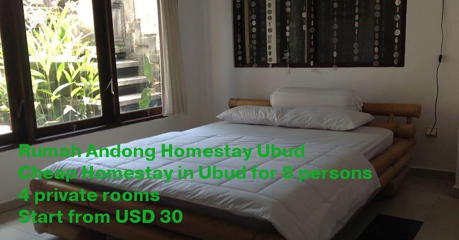 Rumah Andong Homestay Ubud Room #21 - South Kuta - Pension