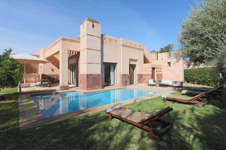 Villa piscine privée sans vis à vis - Marrakesh - Casa de camp