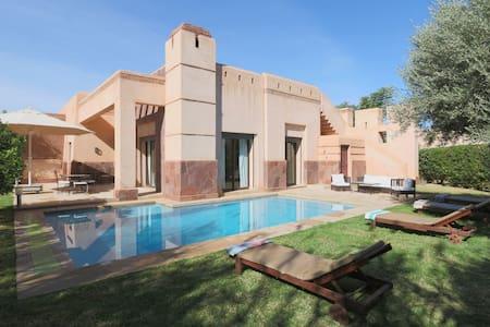 Villa piscine privée sans vis à vis - Marakesz
