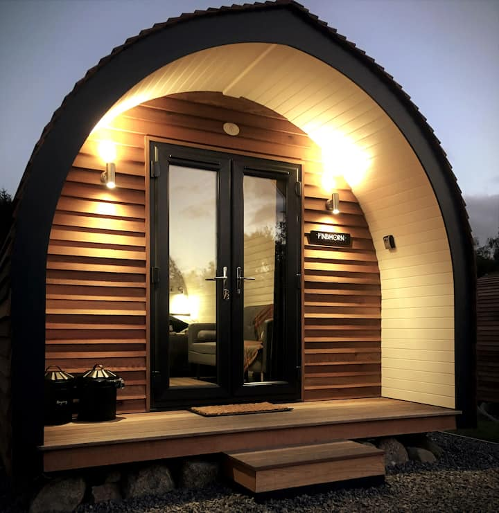 LUXURY GLAMPING POD (3) NEAR INVERNESS & AVIEMORE