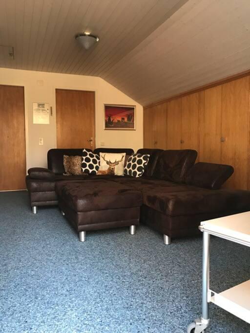 Wohn/TV Raum für Airbnb