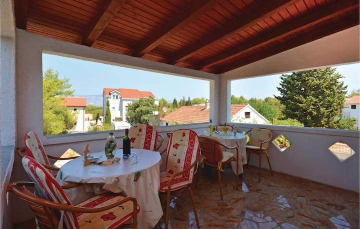 Awesome home in Rudina with WiFi and 1 Bedrooms