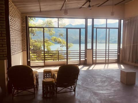 three 2-bedroom with amazing views over the lake
