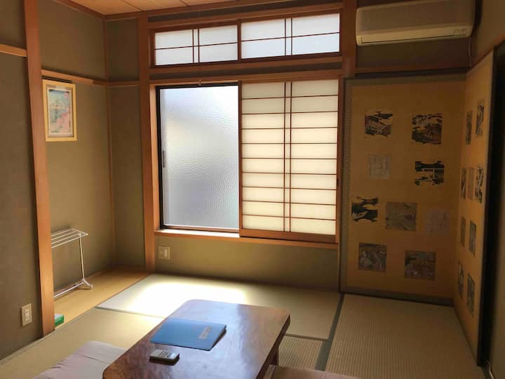 More & More : Japanese wooden room up to 2 persons