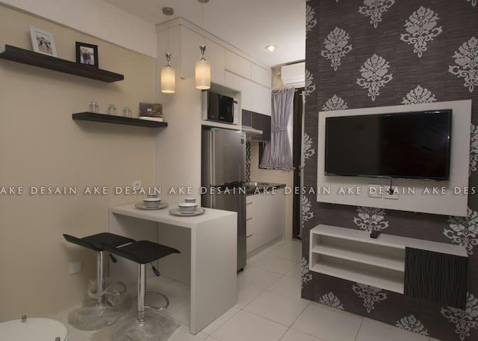 2BR Kebagusan City - Pasar Minggu - Appartement