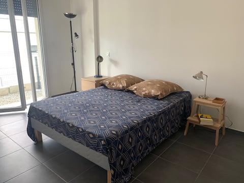 Appartement de 45 m² avec 1 chambre et une sdb