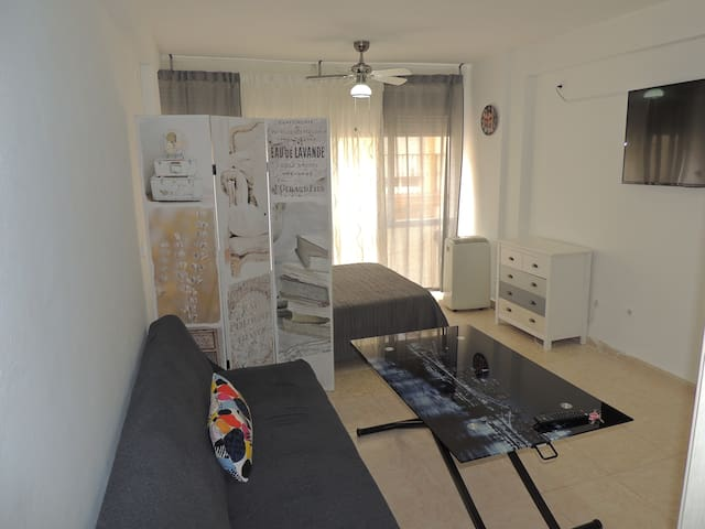 Estudio/apartamento en playa de Fuengirola (wifi)