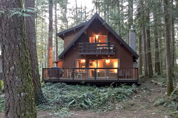 Glacier Springs Cabin #27 - A private 2-story pet-friendly cabin! Now with WiFi!