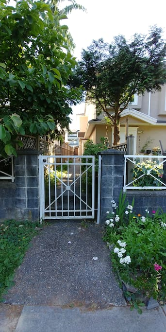 A gate to your suite