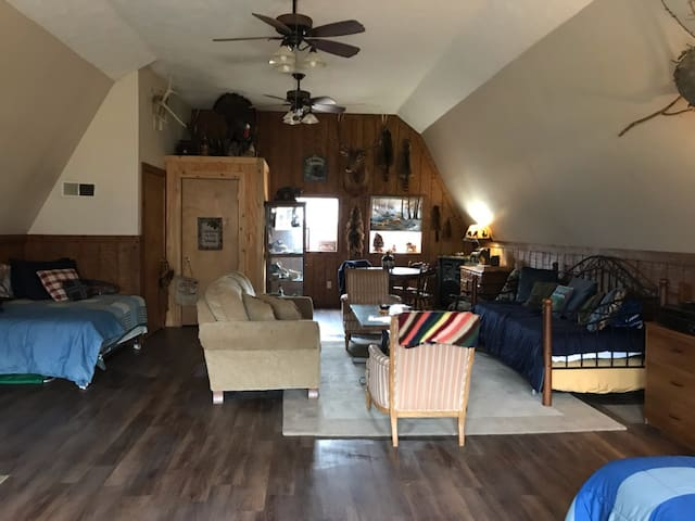 Hideout Hollow Hunting Cabin--On 90 Wooded Acres!