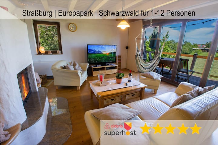 romantic Holiday Home Black Forest near Strasbourg