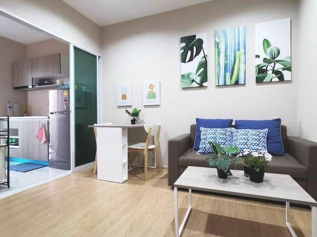 ห้องสำหรับครอบครัว one+ condo เชียงใหม่