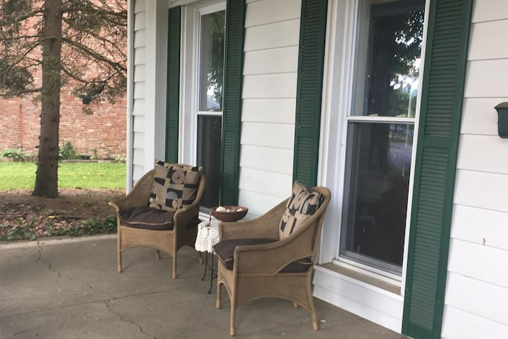 Sit and relax on the porch