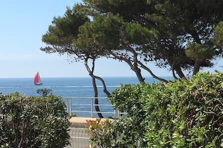 Studio 38 m2 avec jardin vue mer - Sausset-les-Pins
