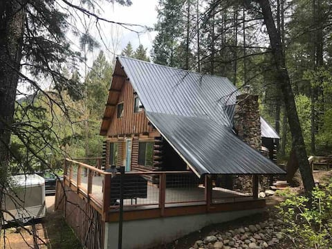 Mountain Cabin with the best location in Alpine