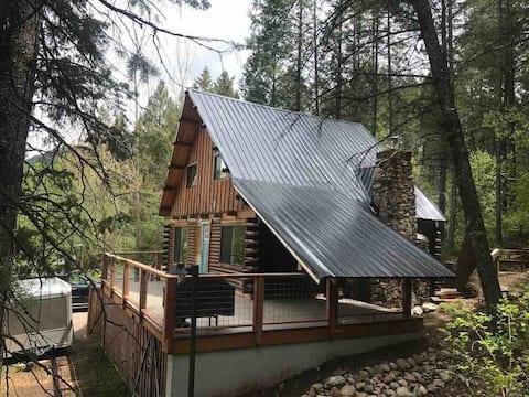 Mountain Cabin med den bedste beliggenhed i Alperne