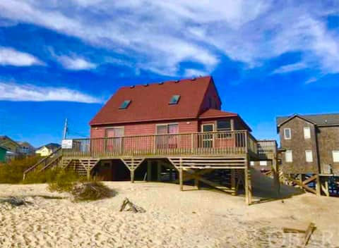 OBX Beach Life Ocean front cottage