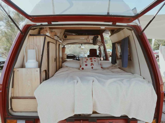 Classic 1984 VW T3 high roof camper