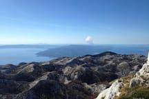 Biokovo  mountain 50km