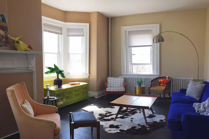 Inviting & Spacious Elmwood Village Apartment - Buffalo - Apartamento