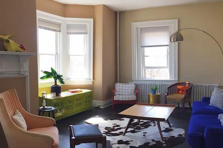 Inviting & Spacious Elmwood Village Apartment - 布法罗 - 公寓