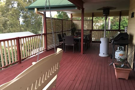 Relax & explore Tamborine Mountain - Eagle Heights - Casa