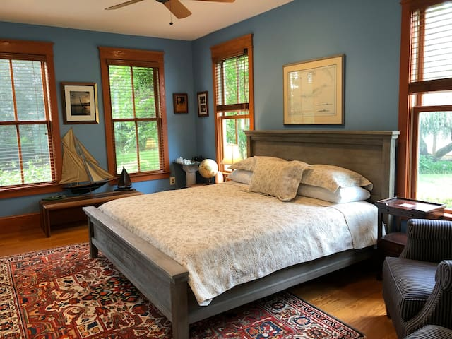 Blue Hill Farm B&B  King Room With a View 1