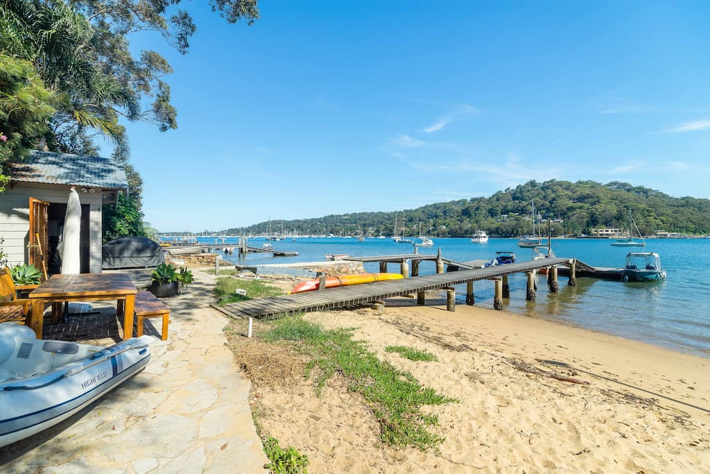 Direct waterfront property with jetty