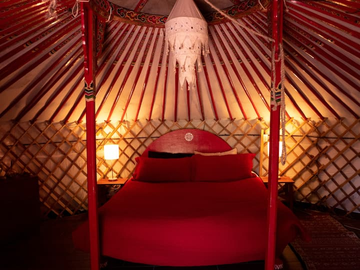 Samadhi Yurt at Kayakalpa Alchemy Foundation