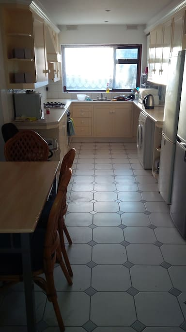 Kitchen with all amenities available for common use.