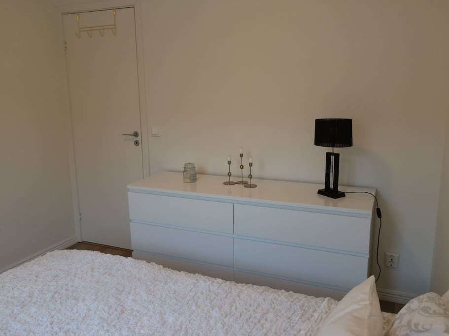 Chest of drawers in the bedroom