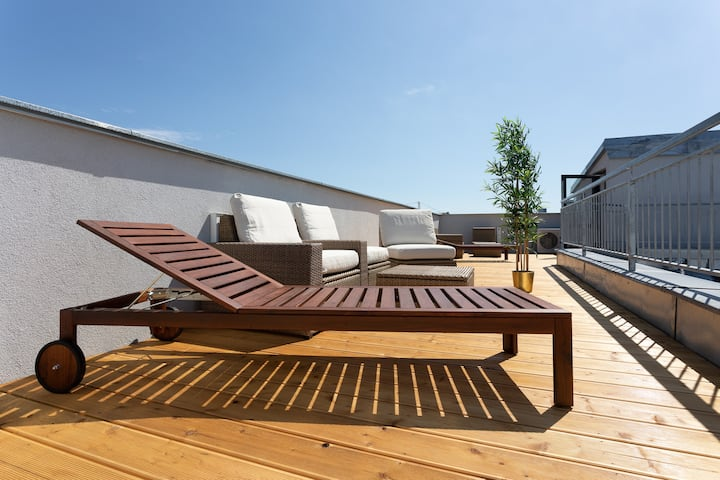 Penthouse near Schoenbrunn|Amazing Terrace|Apt.44