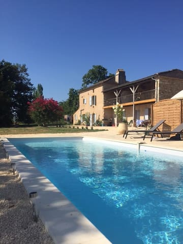 L'Olivier de Monpazier, with Heated pool
