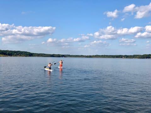 Delafield Nagawicka Lake Retreat