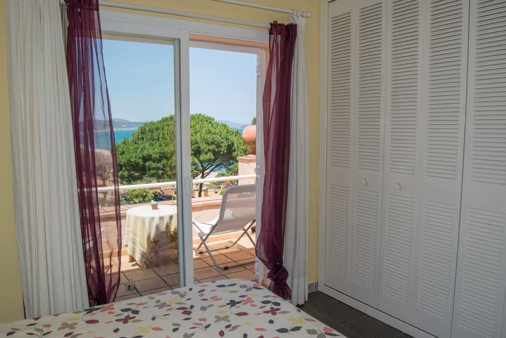 habitación doble con terraza vistas a mar-SA PUNTA COSTA BRAVA