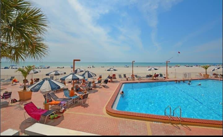 Redington Shores Beach Condo with a View.