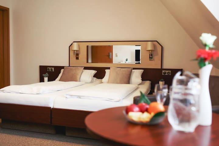 """Hotel & Restaurant """" Am Jüdenhof"""" bei Mühlhausen (Heilbad Heiligenstadt) - LOH05577, Doppelzimmer"""