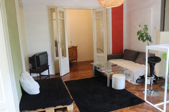 Balkan Room 1 (Private w/ King Size Bed & Balcony)