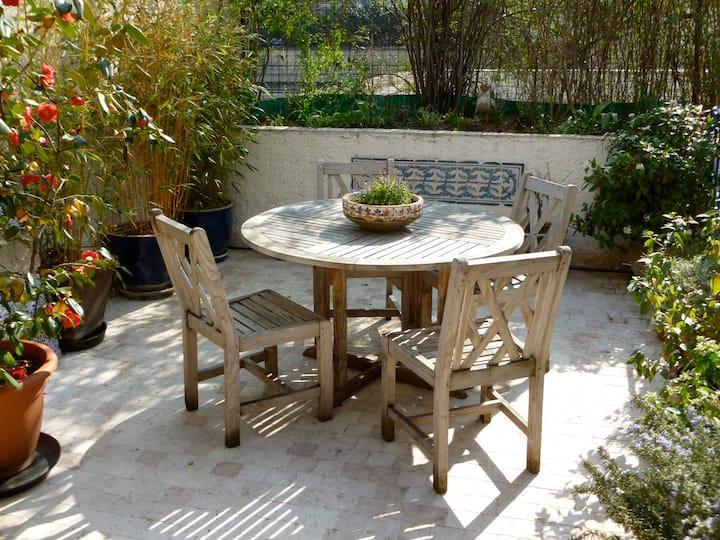 Sweet Paris Duplex, rare private outdoor terrace