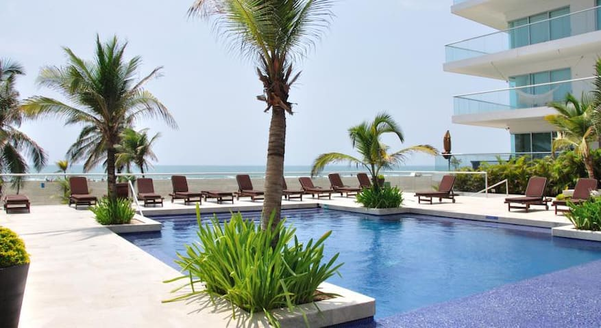 Awesome Oceanfront Apt for 6  - Cartagena - Apartamento
