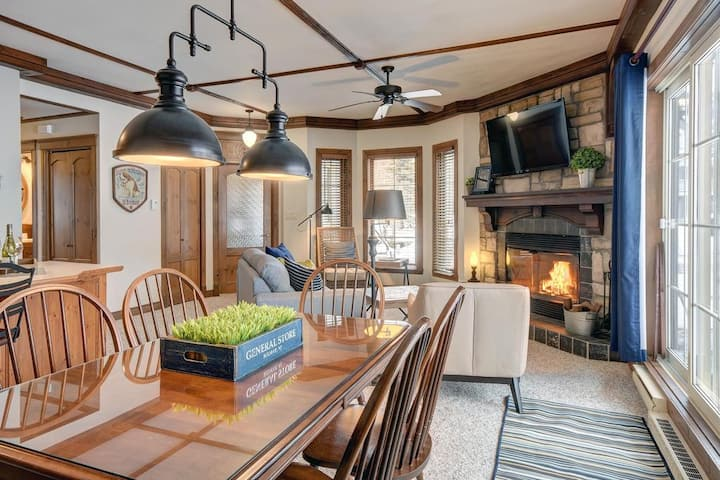 Fantastic 2bdrms - Perfect location in Tremblant!