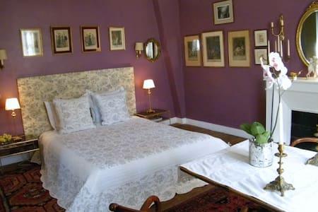 Grande chambre cosy, cadre verdure et châteaux. - Dhuizon - Rumah