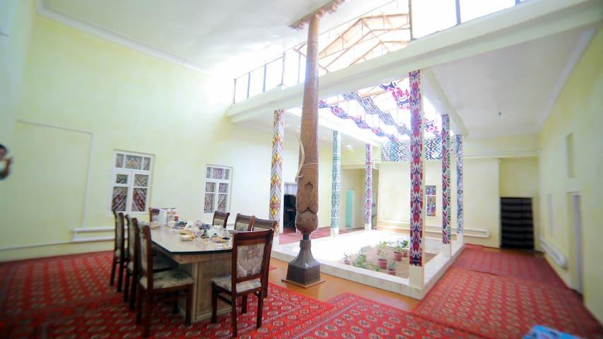 Garden House in the Old City Khiva