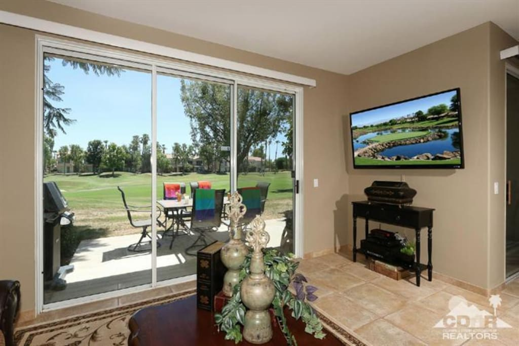 Living Room with View of Nicklaus Tournament Course